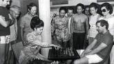 Imelda Marcos and Bobby Fischer
