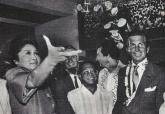 Imelda Marcos and George Hamilton
