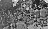 1950 PEFTOK attend mass at the county of Chorwon in North Korea