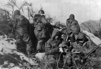 1952 19th BCT K Company before infiltrating Bloody Nose Ridge in Chunchon