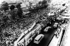 1970 President Ferdinand Marcos delivers his fifth State of the Nation Address
