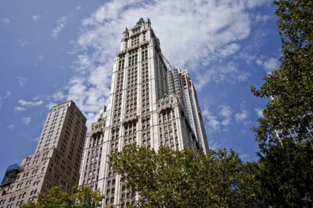 1910 Cass Gilbert, Woolworth Building, NYC
