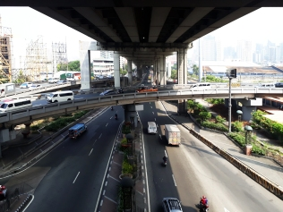 1969 South Superhighway and Magallanes Interchange (photograph c/o Wikipedia)