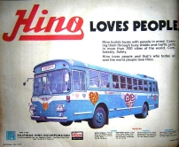 1976 Hino Love Bus, from the Philippine Daily Express