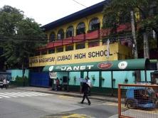 1958 Ramon Magsaysay High School (photograph c/o Mapio)