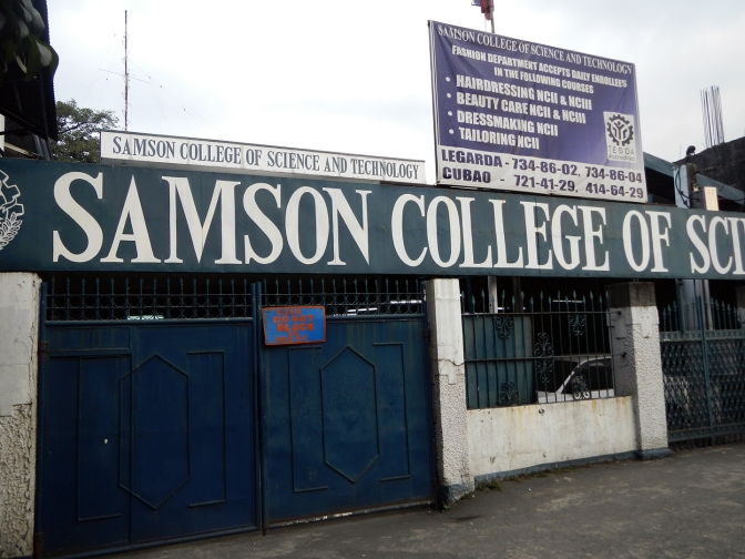 47 1983 Samson College of Science and Technology