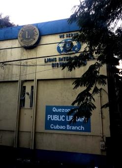 1968 Quezon City Public Library Cubao Branch (established 1948)