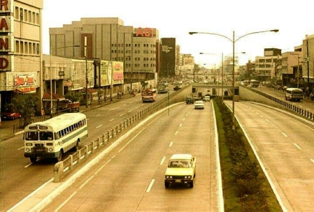 1980s EDSA and Aurora Boulevard
