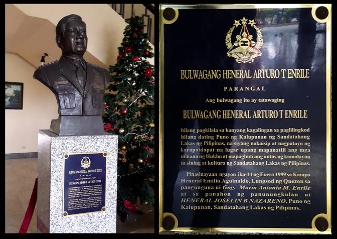 02 1998 Napoleon Abueva - Gen, Arturo T. Enrile