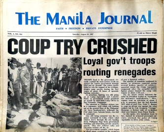 1987 August 29, The Manila Journal