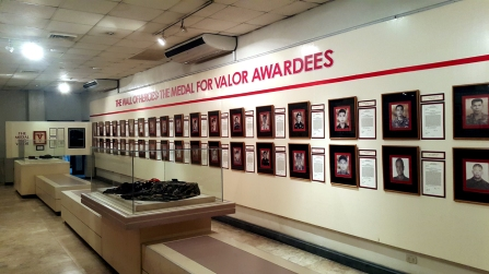 1995-2012 AFP Museum, Medal of Valor Exhibit
