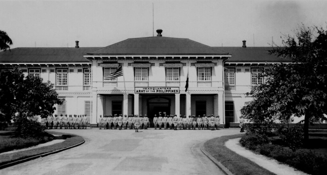 1930s Philippine Army Headquarters, Sampaloc, Manila