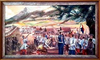 Elmer A. Salvosa - Surrender of the Spaniards in Bicol