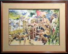 Elmer Gernale - Battle of Binakayan