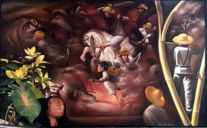 08 Ramon T. De La Cruz - Battle of Tanza del Norte, Pan-ay