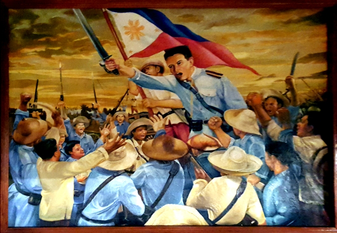 09 Mark Angelo Argarin - The First Display of the Philippine Flag
