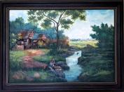 J. Rivera - River Scene