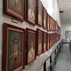Epifanio de los Santos Avenue, Quezon City: The Hall of the Chiefs of Staff at the AFP Museum, Camp Aguinaldo