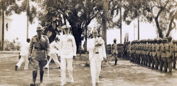 1901 Captain Henry T. Allen and the Philippine Constabulary