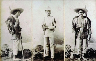 1890s Guardia Civil, Indio Infantrymen