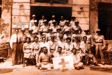 1940s Manila Police Department, First Precint, Manila City Hall