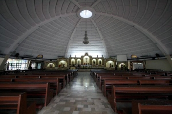 Saint Joseph Chapel, Camp Crame (photo c/o Brideworthy)