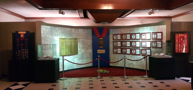 PNP Museum, PC Medal of Valor Awardees