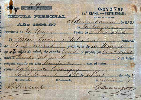 03 1896 Cedula