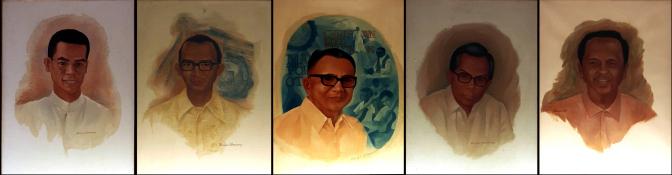 05 1975-1998 Ben-Hur Villanueva – AGS Principals, Paul V. Bartolome, Rodolfo A. Malasmas, Santos Ma. Giron, Asterio J. Katigbak & Florencio R. Cuerquis