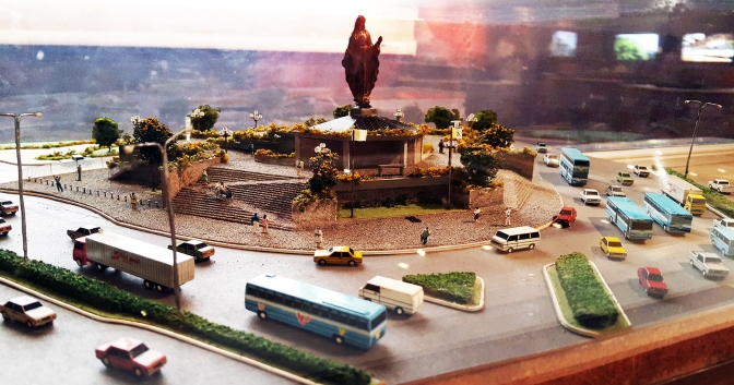 07 1989 Francisco Mañosa - Our Lady of EDSA Shrine, scale model