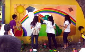 2012 Reception & Study Center for Youth and Children Murals by FEU