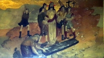 Stations of the Cross X - Jesus is stripped of His Robes