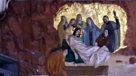 Stations of the Cross XIV - Jesus is placed in the Tomb