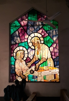 Stained Glass, Saint Joseph the Worker