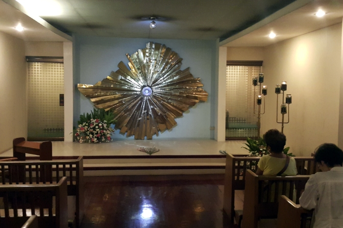 18 1989 Eduardo Castrillo - EDSA Shrine, Chapel of Perpetual Adoration, Blessed Sacrament