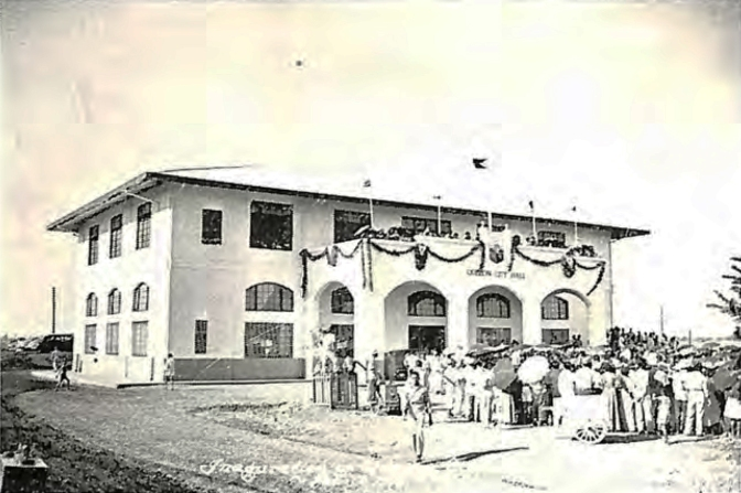 1948 Inauguration of the Quezon City Hall, 19 February