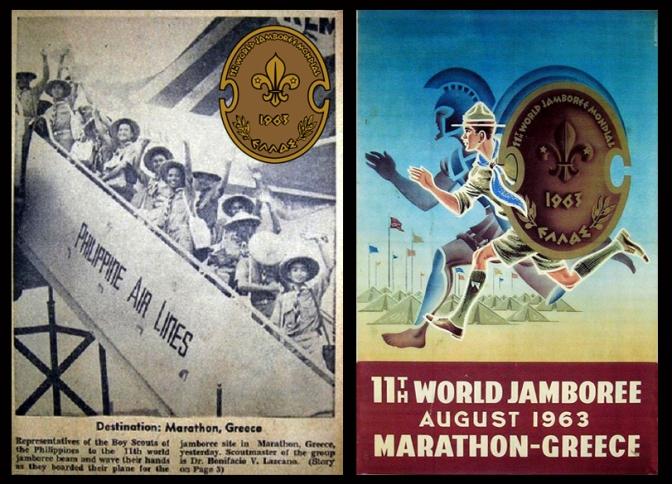02 1963 11th World Scout Jamboree Philippine Contingent, Marathon Greece