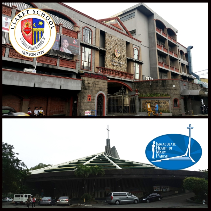 02 1967 Claret School of Quezon City & 1977 Immaculate Heart of Mary Parish