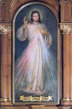 1943 Divine Mercy by Adolf Hyła (1897-1965)