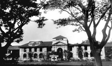1945 Philippine General Hospital, post WWII, Manila