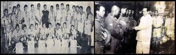 03 1963 BSP Representatives Courtesy Call to Pres. Macapagal