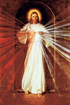 1982 Divine Mercy by Robert Oliver Skemp (1910-1984)