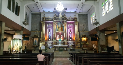 1980 Holy Family Parish, Nave and Altar