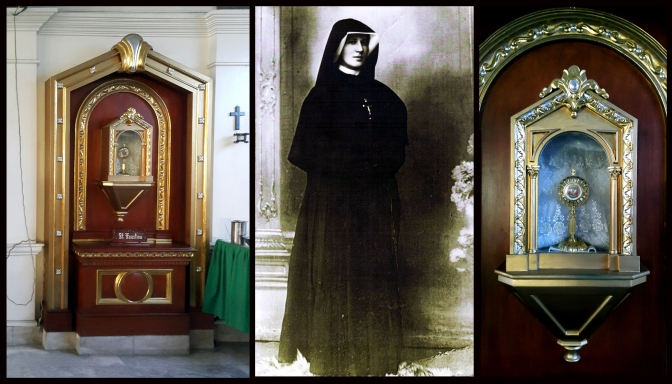 04 1993 Parish of The Lord of Divine Mercy, Right Transept, Relic of Saint Faustina Kowalska (1905–1938)