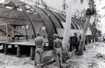 1944 75th Seabees (United States Naval Construction Battalions), Sick Bay, Philippines