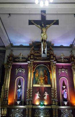 1980 Holy Family Parish, Altar, Crucifix