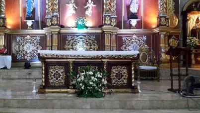 1980 Holy Family Parish Altar
