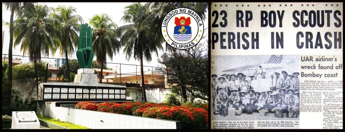 06 1963 Boy Scout Cenotaph of the 11th Jamboee, Manila North Cemetery
