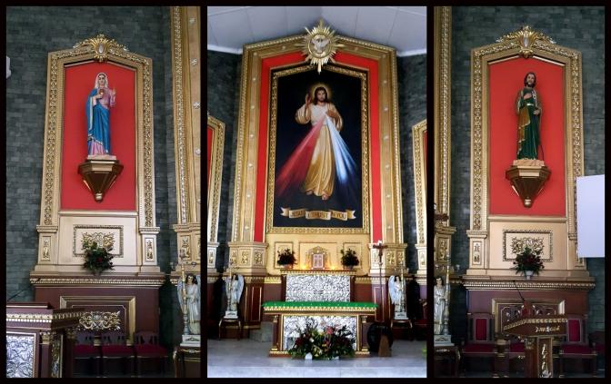 06 Altar Sacred Heart of Mary, Altar Sacred Heart of Jesus & Saint Joseph