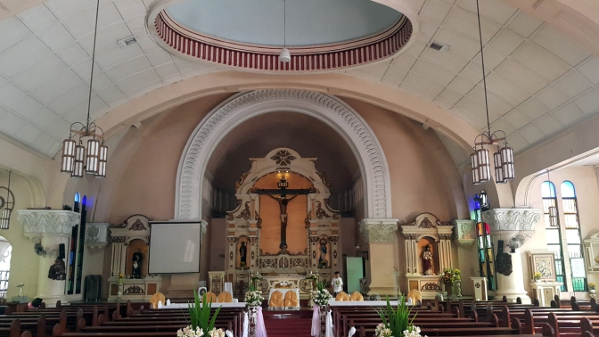 07 1941 Sacred Heart of Jesus Parish, Altar and Nave